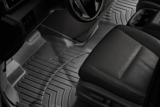 WeatherTech® 443471 - DigitalFit™ Molded Floor Liner (1st Row - Over The Hump, Black)