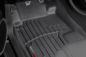WeatherTech® 443481 - DigitalFit™ Molded Floor Liners (1st Row, Black)