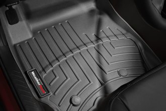 WeatherTech® 443541 - DigitalFit™ Molded Floor Liners (1st Row, Black)