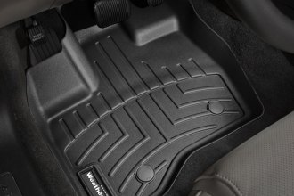 WeatherTech® 443591 - DigitalFit™ Molded Floor Liners (1st Row, Black)