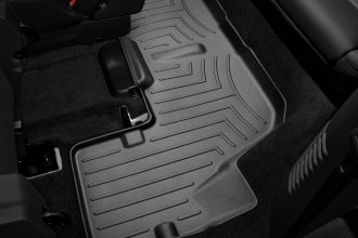 WeatherTech® 443593 - DigitalFit™ Molded Floor Liners (3rd Row, Black)