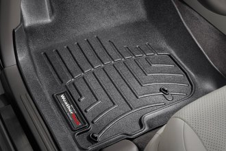 WeatherTech® 443611 - DigitalFit™ Molded Floor Liners (1st Row, Black)