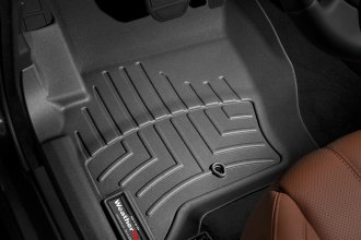 WeatherTech® 443621 - DigitalFit™ Molded Floor Liners (1st Row, Black)