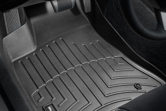 WeatherTech® 443791 - DigitalFit™ Molded Floor Liners (1st Row, Black)