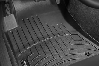 WeatherTech® 443861 - DigitalFit™ Molded Floor Liners (1st Row, Black)