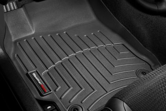 WeatherTech® 444001 - DigitalFit™ Molded Floor Liners (1st Row, Black)
