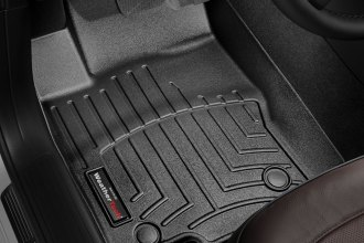 WeatherTech® 444011 - DigitalFit™ Molded Floor Liners (1st Row, Black)