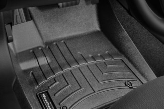 WeatherTech® 444031 - DigitalFit™ Molded Floor Liners (1st Row, Black)