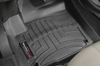 WeatherTech® 444041 - DigitalFit™ Molded Floor Liners (1st Row, Black)