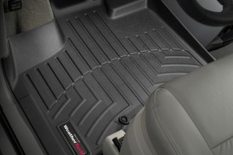 WeatherTech® 444211 - DigitalFit™ Molded Floor Liners (1st Row, Black)