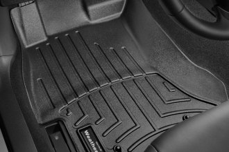 WeatherTech® 444391 - DigitalFit™ Molded Floor Liners (1st Row, Black)