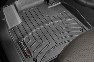 WeatherTech® 444401 - DigitalFit™ Molded Floor Liners (1st Row, Black)