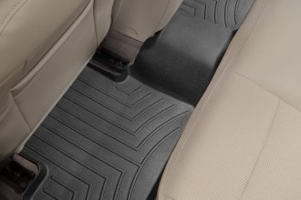 WeatherTech® 444572 - DigitalFit™ Molded Floor Liners (2nd Row, Black)