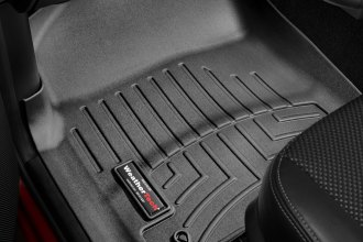 WeatherTech® 444781 - DigitalFit™ Molded Floor Liners (1st Row, Black)