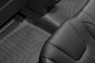 WeatherTech® 444832 - DigitalFit™ Molded Floor Liners (2nd Row, Black)