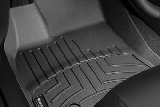 WeatherTech® 444841 - DigitalFit™ Molded Floor Liners (1st Row, Black)