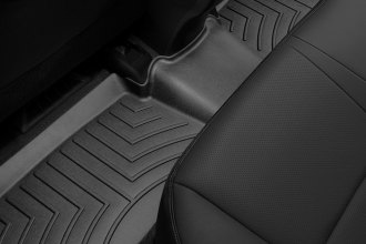 WeatherTech® 444842 - DigitalFit™ Molded Floor Liners (2nd Row, Black)