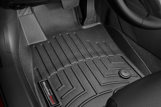 WeatherTech® 444861 - DigitalFit™ Molded Floor Liners (1st Row, Black)