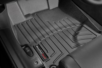 WeatherTech® 444921 - DigitalFit™ Molded Floor Liners (1st Row, Black)