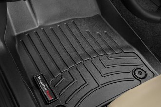 WeatherTech® 445031 - DigitalFit™ Molded Floor Liners (1st Row, Black)