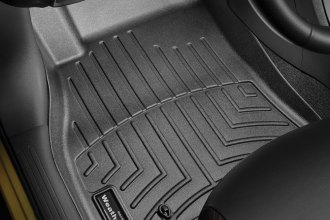 WeatherTech® 445041 - DigitalFit™ Molded Floor Liners (1st Row, Black)