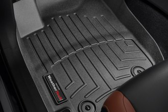 WeatherTech® 445101 - DigitalFit™ Molded Floor Liners (1st Row, Black)