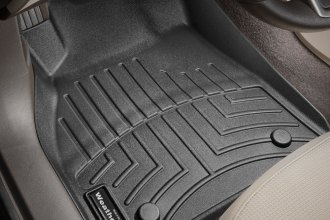 WeatherTech® 445221 - DigitalFit™ Molded Floor Liners (1st Row, Black)