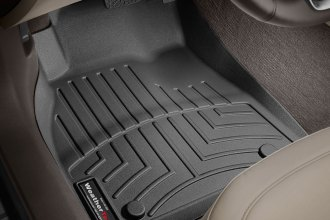 WeatherTech® 445241 - DigitalFit™ Molded Floor Liners (1st Row, Black)