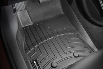 WeatherTech® 445271 - DigitalFit™ Molded Floor Liners (1st Row, Black)