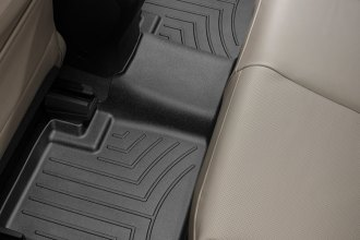WeatherTech® 445312 - DigitalFit™ Molded Floor Liners (2nd Row, Black)
