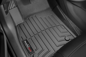 WeatherTech® 445321 - DigitalFit™ Molded Floor Liners (1st Row, Black)