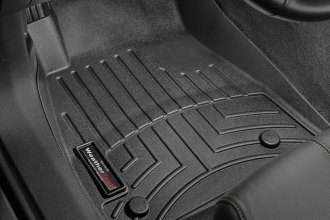 WeatherTech® 445341 - DigitalFit™ Molded Floor Liners (1st Row, Black)