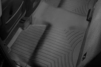 WeatherTech® 445422 - DigitalFit™ Molded Floor Liner (2nd Row, Black)