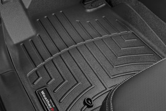 WeatherTech® 445561 - DigitalFit™ Molded Floor Liners (1st Row, Black)