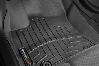 WeatherTech® 445801 - DigitalFit™ Molded Floor Liners (1st Row, Black)