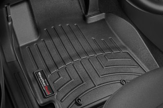 WeatherTech® 446011 - DigitalFit™ Molded Floor Liners (1st Row, Black)