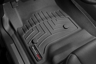 WeatherTech® 446071 - DigitalFit™ Molded Floor Liners (1st Row, Black)