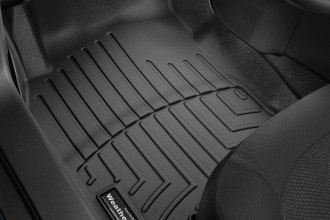 WeatherTech® 446301 - DigitalFit™ Molded Floor Liners (1st Row, Black)