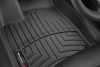 WeatherTech® 446451 - DigitalFit™ Molded Floor Liners (1st Row, Black)