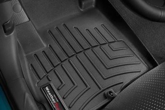WeatherTech® 446511 - DigitalFit™ Molded Floor Liners (1st Row, Black)