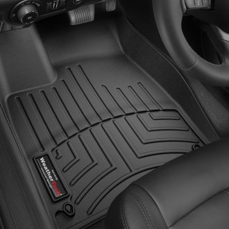 WeatherTech® 446891 - DigitalFit™ Molded Floor Liners (1st Row, Black)