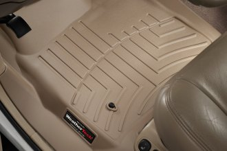 WeatherTech® 450021 - DigitalFit™ Molded Floor Liners (1st Row, Tan)