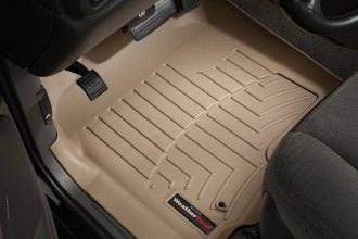 WeatherTech® 450031 - DigitalFit™ Molded Floor Liners (1st Row, Tan)