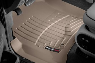 WeatherTech® 450051 - DigitalFit™ Molded Floor Liners (1st Row, Tan)