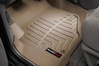 WeatherTech® 450071 - DigitalFit™ Molded Floor Liners (1st Row, Tan)