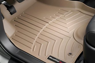 WeatherTech® 450141 - DigitalFit™ Molded Floor Liners (1st Row, Tan)