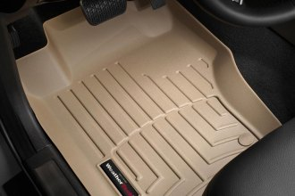 WeatherTech® 450161 - DigitalFit™ Molded Floor Liners (1st Row, Tan)