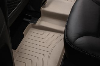 WeatherTech® 450162 - DigitalFit™ Molded Floor Liner (2nd Row, Tan)