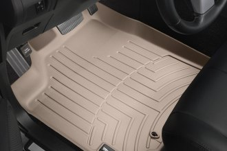 WeatherTech® 450361 - DigitalFit™ Molded Floor Liners (1st Row, Tan)