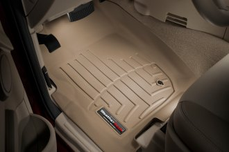 WeatherTech® 450431 - DigitalFit™ Molded Floor Liners (1st Row, Tan)